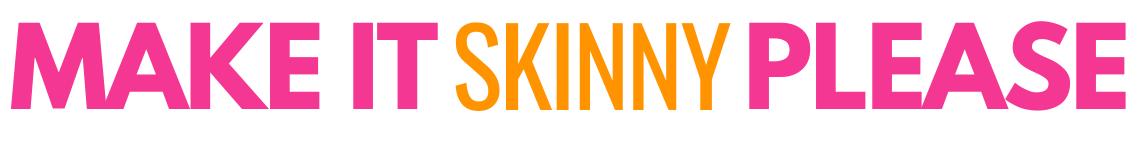 Make It Skinny Please logo